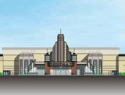 Artist Rendering of the New Marcus Majestic Cinema in Brookfield, Wisconsin