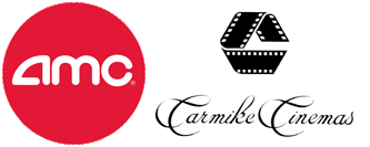 AMC Theatres and Carmike Cinemas logos