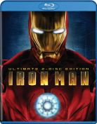 Iron Man Blu-ray Cover