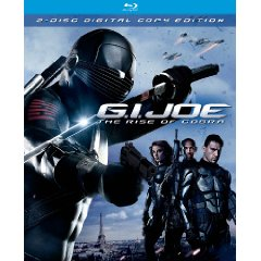 Cover Art for G.I. Joe: The Rise of Cobra on Blu-ray