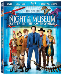 Night at the Museum: Battle of the Smithsonian on Blu-ray