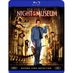 Night at the Museum on Blu-ray