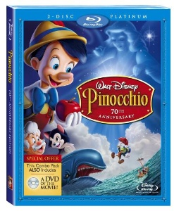 Pinocchio Blu-ray Cover