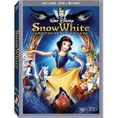 Snow White and Seven Dwarfs Blu-ray Box Cover