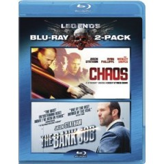 Chaos / The Bank Job Blu-ray Cover Art