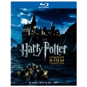 Cover Art for Harry Potter Collection on Blu-ray