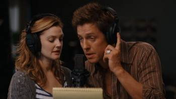 Drew Barrymore and Hugh Grant Composing a Song