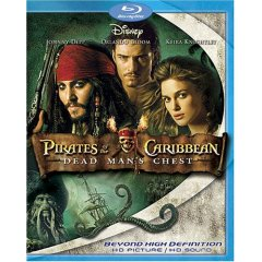 Pirates of the Caribbean on Blu-ray
