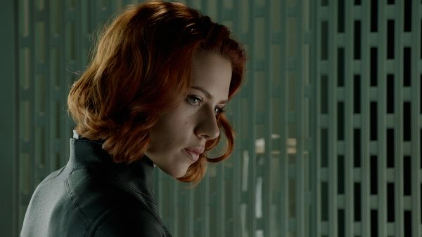 Scarlett Johansson as the Black Widow. © 2011 MVLFFLLC. TM & © 2011 Marvel. All Rights Reserved.